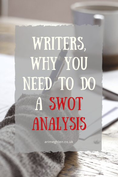 Title Image: Writers, why you need to do a SWOT analysis