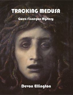 Image: Book cover for Tracking Medusa: Gwen Finnegan Mystery by Author Devon Ellington