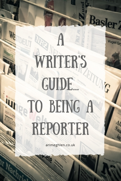 A Writer's guide to being a reporter. Image: Newspapers in a stand