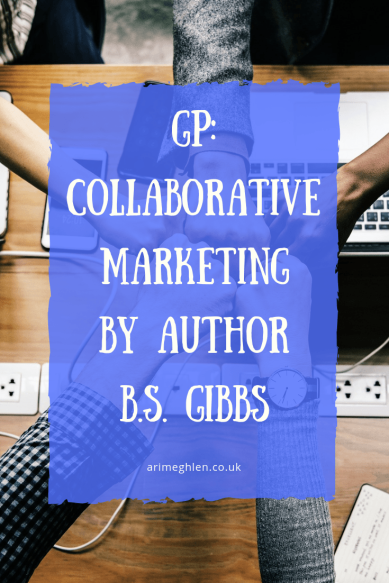 Guest post: Collaborative Marketing ideas by author B.S Gibbs. Image: people bumpoing fists