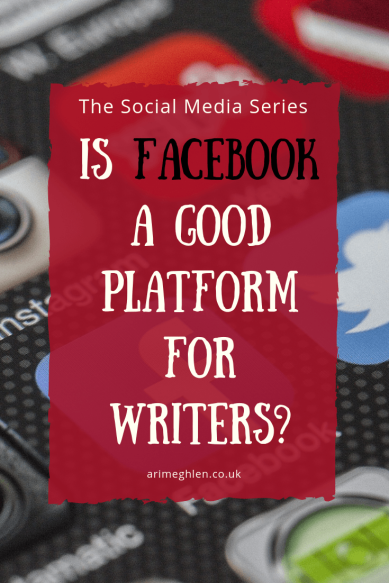 Social Media Series: Is facebook a good platform for writers? Image: social media icons