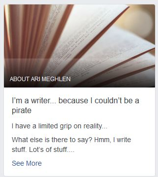 Screenshot Our Story for author Ari Meghlen