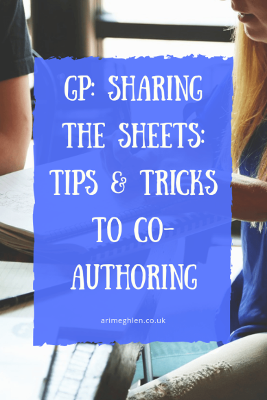 Guest post - Sharing the sheets: Tips & tricks to co-authoring. Image: People working together