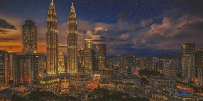Photo of skyscrapers and cityscape. Kuala Lumpar