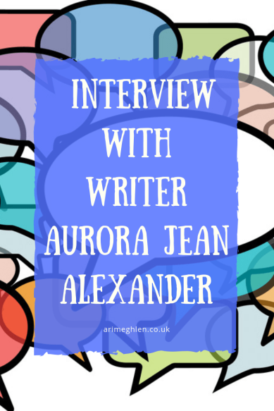 Interview with writer Aurora Jean Alexander. Image: Speechbubbles