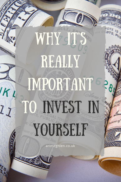 Why it's really important to Invest in Yourself. Image: Rolls of paper money