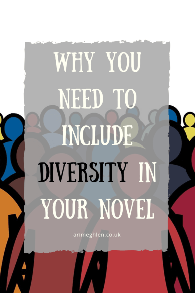 Why you need to include diversity in your novel. Image: Vector image of figures in a rainbow of colours