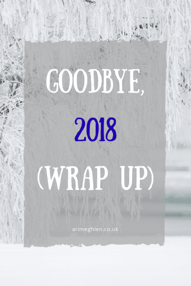 Goodbye, 2018 (Wrap up) Image: Winter scene with snow covered tree
