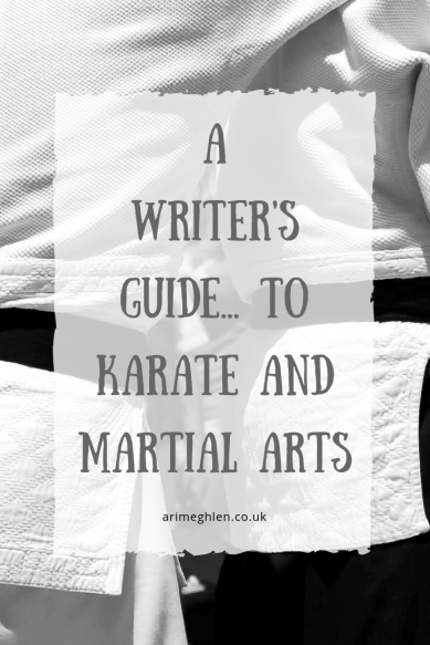 A Writer's Guide to... karate and martial arts by Kyle Robertson. Image: Fighters in karate gee