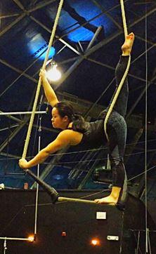 Catherine Doveland, Dance Trapeze Artist