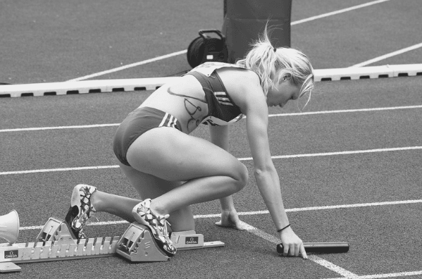 Featured Images - Woman in a race. Image from Pixabay