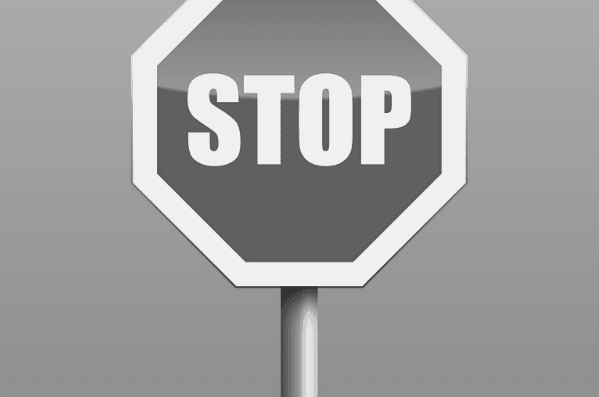 Featured Images - Stop sign. Image from Pixabay
