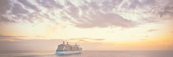 Cruise ship in the sea. Pixabay image