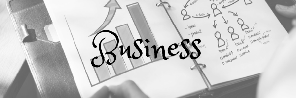 Business header. Image: chart