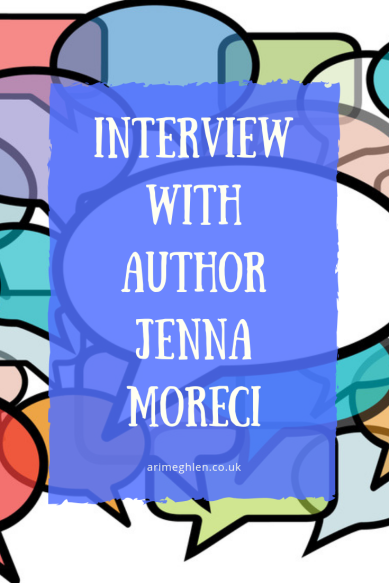Interview with author Jenna Moreci. Image: Speechbubbles