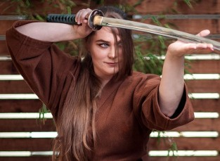 Writer Morgan Morrow.  Knowledge of the Katana