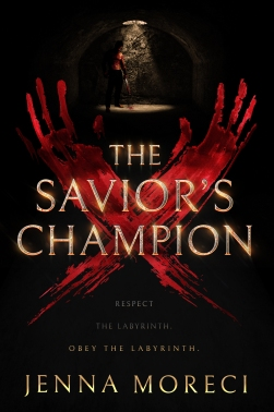 The Saviour's Champion by Jenna moreci.  Book cover