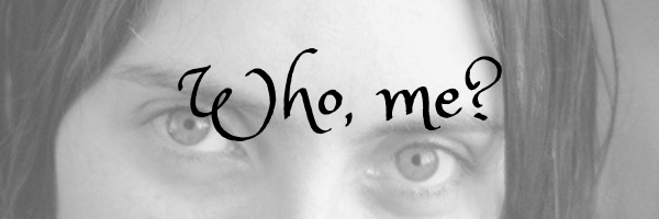 Who me page banner.  Image Ari Meghlen's eyes.  About page for Ari Meghlen