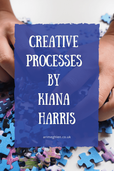 Creative Processes by Kiana Harris. Image of hands sorting a jigsaw, from Pixabay