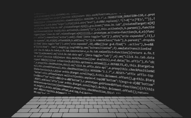Featured Image - Vector image of computer Code on a screen and a blank keyboard. Image from Pixabay