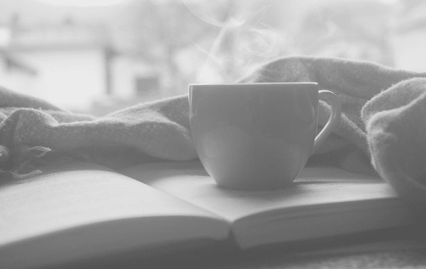 Featured Image - Take a break. Cup, blanket and book. Image from Pixabay