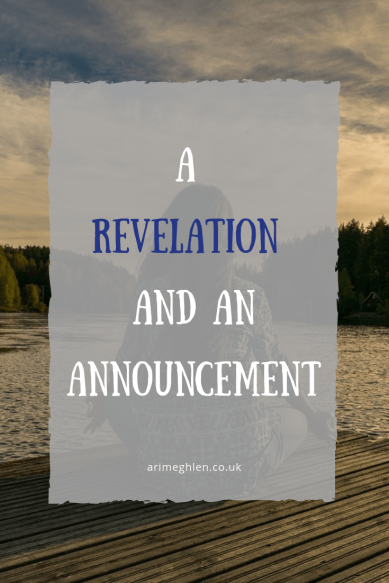 A Revelation and an Announcement post. Image from Pixabay