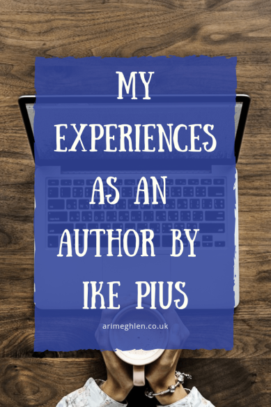 My experiences as an author guest post