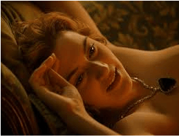 Kate Winslet from the movie Titanic.