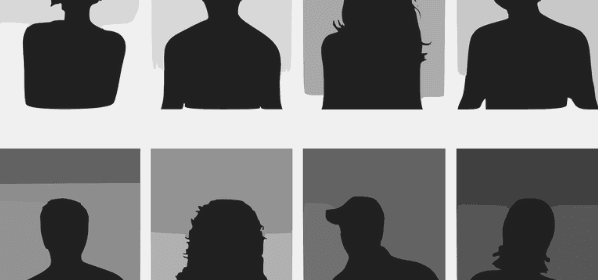 Featured Image - Silhouettes of people, vector image from Pixabay.