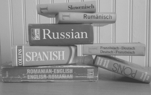 Featured Image - Foreign language dictionaries. Image from Pixabay