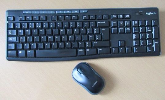 My Worklife Series - Workstation set-up - wireless keyboard and mouse