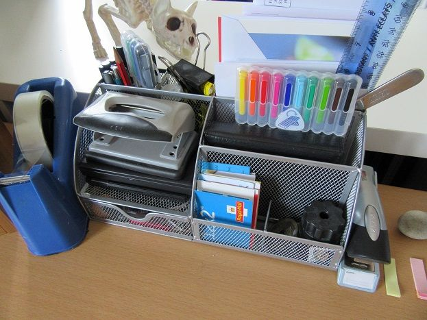 My Writerlife Series - Workstation set-up - stionery holder