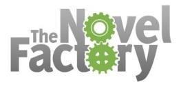 The Novel Factory - Logo