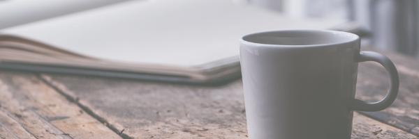Cup and book image from Pixabay