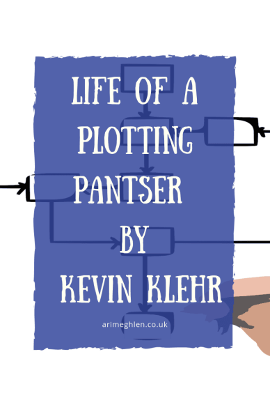 Banner - Life of a Plotting Pantser by author Kevin Klehr