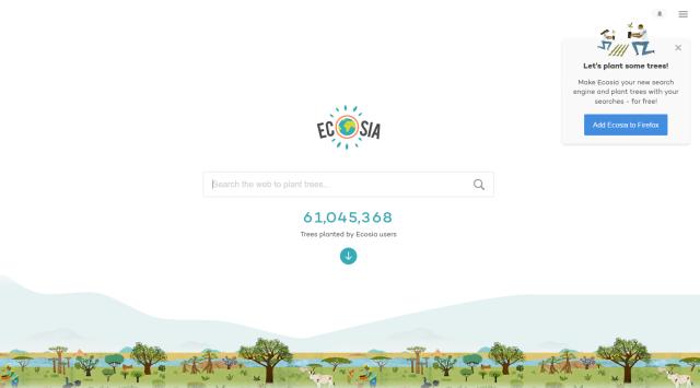 Search Engine Ecosia