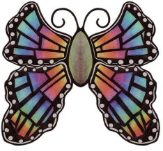 Avatar for writer Lucia Brucoli. Artistic butterfly