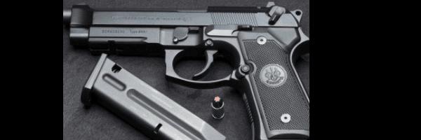 Gun and magazine