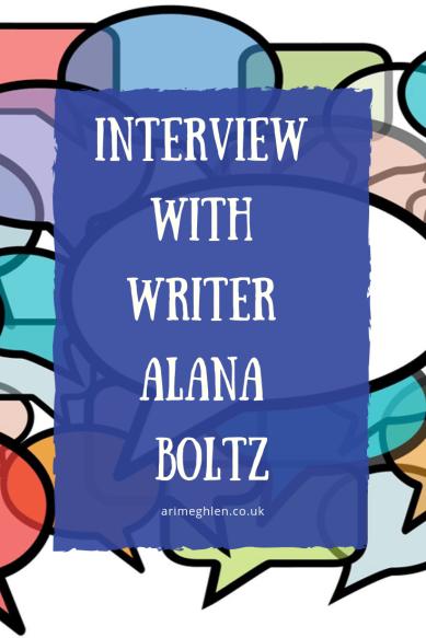 Banner - Interview with Writer Alana Boltz