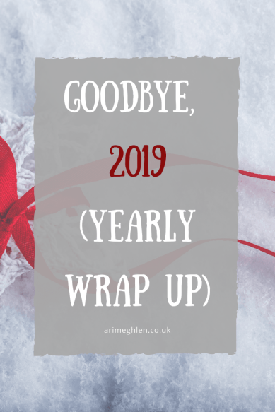 Banner - Goodbye 2019, yearly Wrap up