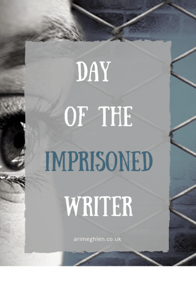 Banner - Day of the Imprisoned Writer. 15 November