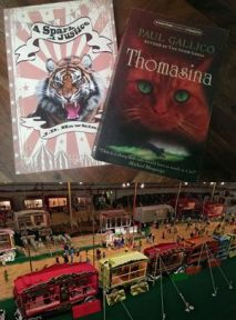 The Spark of Justice by J D Hawkins and Thomasina. books with circus theme