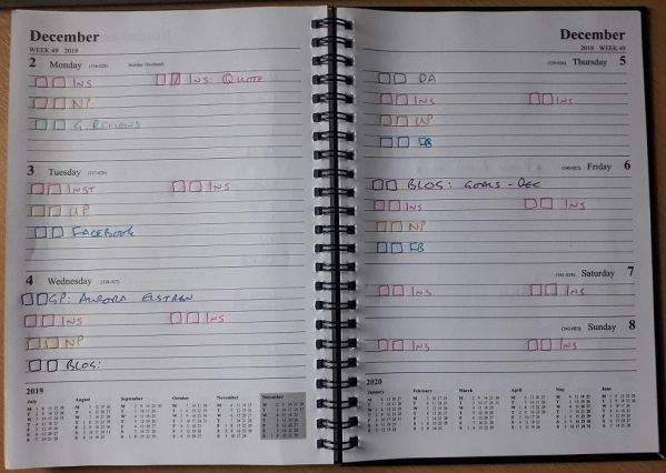 Deep Scheduling for Social Media, planner for social media. Organise your social media content