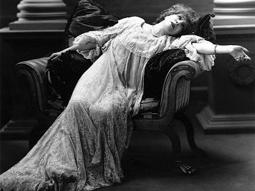 Vintage fainting image meme