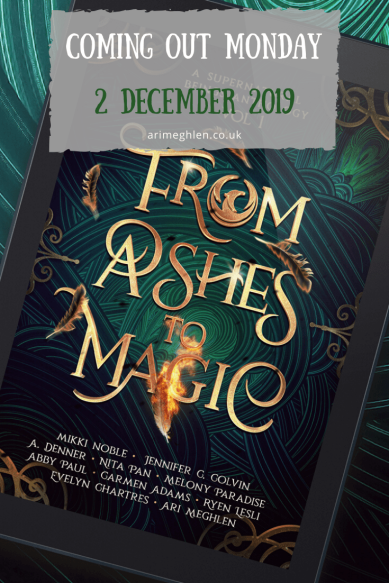 Banner - From Ashes to Magic Anthology is coming out 2 December 2019. #SupernaturalBeings