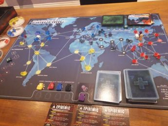 Boardgames, Collaboration games. Pandemic, Boardgamer
