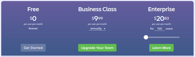 Trello pricing options