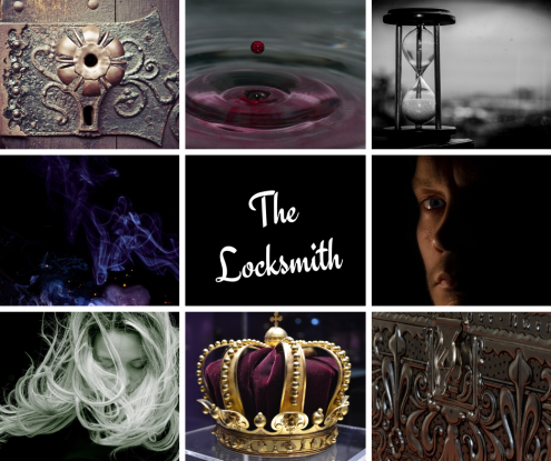 "The Story Aesthetic for the short story ""The Locksmith"" by Ari Meghlen, featured in From Ashes to Magic"