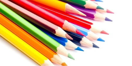 Blog Image - Photo of several coloured pencil crayons with sharp points. Image from GraphicStock