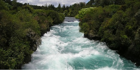 Fast flowing river from Pixabay